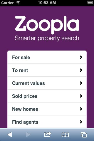 zoopla-opening screen